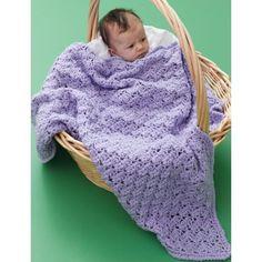 Crochet Patterns Galore - Textured Baby Blanket