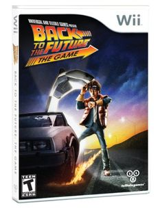Back to the Future- The Game - Nintendo Wii Telltale Games