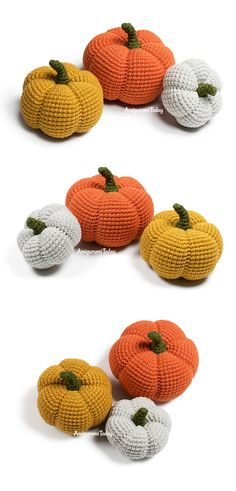 Free Halloween amigurumi pumpkin crochet pattern by Amigurumi Today Crochet Pumpkin, Crochet Fall, Holiday Crochet, Halloween Crochet, Cute Crochet, Crochet Ideas, Crochet Patterns Amigurumi, Knitting Patterns, Hello Kitty Crochet