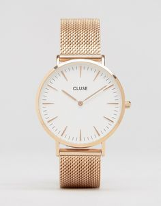Image 1 of Cluse La Bohème Mesh Rose Gold Watch CL18112