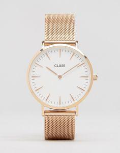 Image 1 of Cluse La Bohème Mesh Rose Gold Watch CL18112