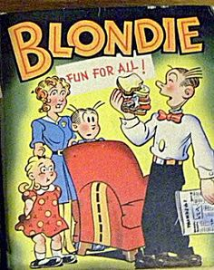 1949 'Blondie - Fun for All' Big Little Book