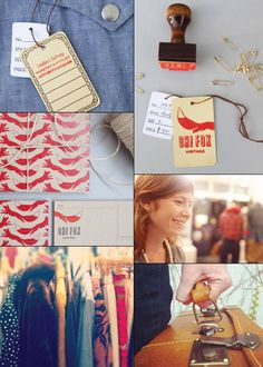 Mint Design showing Go Forth's styling and curating for Oh! Fox Vintage.