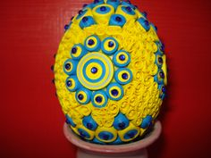 quilling egg