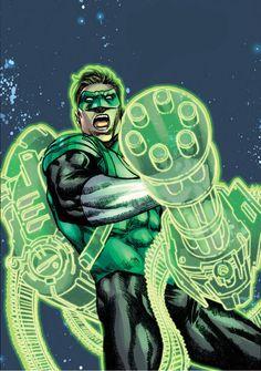 Green-Lantern Hal Jordan by Martin Coccolo