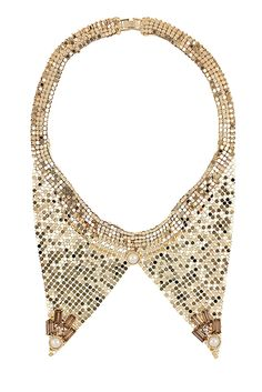 Chainmail Peter Pan Collar By Topshop ;)
