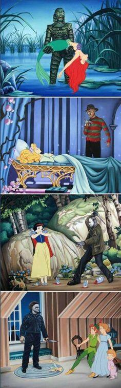 Si Disney fuera de terror ...