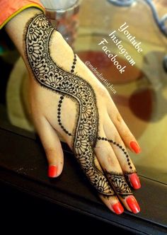 Mehndi latest jewellery design