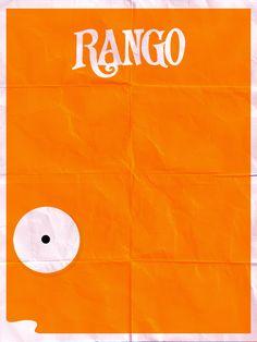 Rango - Mr. Timms minimal poster by ~Nabucodorozor on deviantART
