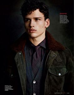 Top model Simon Nessman poses for the September 2011 issue of Russian GQ in a shoot by photographer Richard Phibbs. Simon Nessman, Handsome Male Models, Attractive Men, Cute Guys, Gq, Dapper, Character Inspiration, Editorial Fashion, Russia