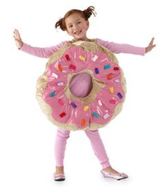 """sprinkle donut girls costume - Only at Chasing Fireflies - You'll have a """"hole"""" lot of fun in this whimsical costume."""