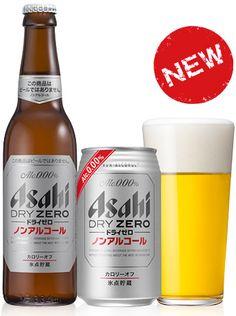 ASAHI DRY ZERO (Non-Alcoholic Beer, ASAHI BREWERIES, LTD.)