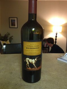 Amazing South African wine