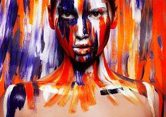 Painted by Viktoria Stutz, via Behance