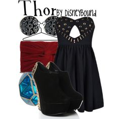 """""""Thor"""" by lalakay on Polyvore #disney"""