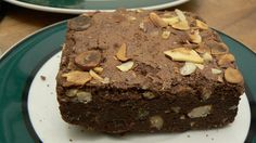 Shelly's Chocolate Monkey Protein Brownies
