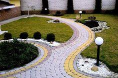 тротуарная плитка в саду Stepping Stone Paths, Royal Park, Path Ideas, Walkways, Front Yard Landscaping, Garden Design, Home And Garden, Backyard, Landscape