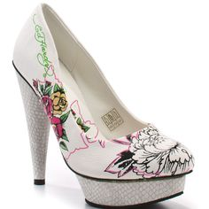 Ed Hardy Women's La Mer Heels- just bought a pair similar to these
