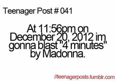 Omg I so should have done that!!