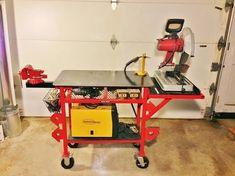 Welding Bench, Welding Table Diy, Welding Cart, Diy Table, Metal Projects, Welding Projects, Welding Tools, Metal Furniture, Cool Furniture