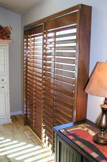 Family room with 3 12 louver plantation shutters installed onto autumn plantation shutters solutioingenieria Choice Image