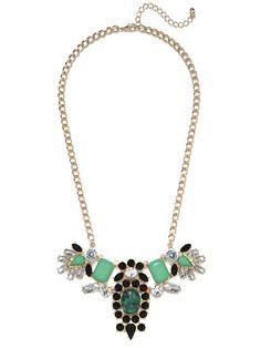 jade native gem necklace