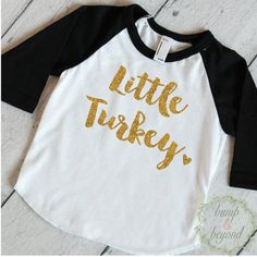 Babys First Thanksgiving, First Thanksgiving Outfit, Turkey Shirt, Baby Girl Thanksgiving Outfit, Thanksgiving Shirt Toddler Fall Outfit