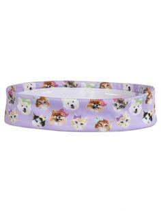 Cat & Dog Headwrap | Girls Clothes New Arrivals | Shop Justice