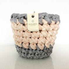 Plant pot cover all'uncinetto PASTELOVE | crochet pot | planter | flower pot…