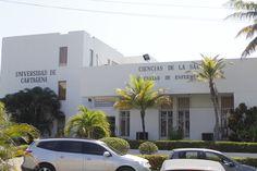 Entreada Principal Facultad de Enfermería de la Universidad de Cartagena Dorm Stuff, University, Cartagena, Universe