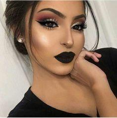 Rocking black lips.