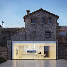 Thoughts on the design? This house is a concept designed and visualized by Gabriele Vacca of Zeronove. - Architecture and Home Decor - Bedroom - Bathroom - Kitchen And Living Room Interior Design Decorating Ideas - Contemporary Bedroom, Modern Bedroom, Modern Exterior, Exterior Design, Modern Windows, Stone Houses, House Goals, Home Fashion, Trendy Fashion