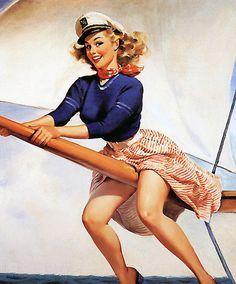 Pin Up Art by Gil Elvgren