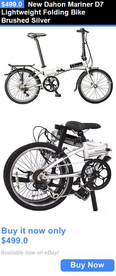 bicycles: New Dahon Mariner D7 Lightweight Folding Bike Brushed Silver BUY IT NOW ONLY: $499.0