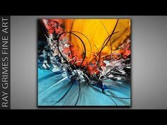 Acrylic Painting Ideas Abstract – Art World 20 Abstract Painting Techniques, Art Techniques, Contemporary Abstract Art, Contemporary Artists, Pour Painting, Painting Art, Beginner Painting, Easy Drawings, Realistic Drawings