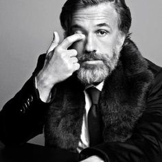 Christoph Waltz ~ another favorite, and I've only seen him in 3 films, he's that good! Haha