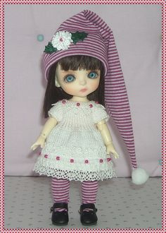 Lati Yellow PukiFee Luts Tiny Delf Dolls White by JCsTinyTreasures, $28.00