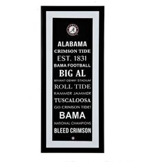 Alabama football quotes on pinterest alabama football for Alabama football wall mural