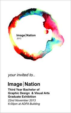 Latrobe 2013 Graduate Exhibition Invite