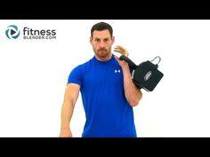 15 Minute Kettlebell Workout Video - 1X10 Kettlebell Training | Fitness Blender