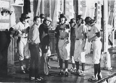 The Warriors Movie Site - Production Photo:The Baseball Furies were created due to Walter Hill's love of baseball and the Glam Rock band Kiss.