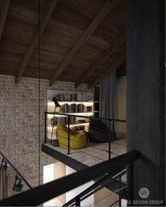 attic loft room loft lofts mansard roof - Loft Stil