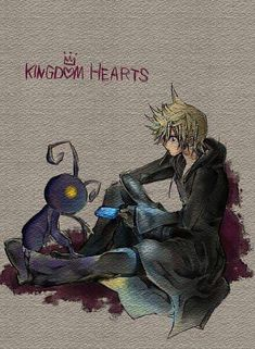 Roxas and a Heartless I'm always pleasantly surprised when I see a Kingdom Hearts pin. I rarely do, unless I search for them directly. Favorite Character, Fantasy, Final Fantasy, Game Art, Video Game Art, Anime, Kingdom Hearts Games, Fan Art, Roxas Kingdom Hearts