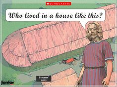 Tour of a Viking longhouse – interactive resource