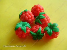 How to make fondant raspberries