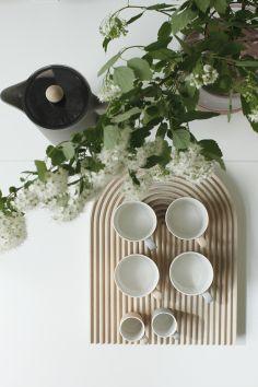 Plants as decoration - via cocolapinedesign.com