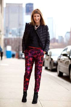 A print pant will be essential for the season, but will also be easy to wear come Spring 2013
