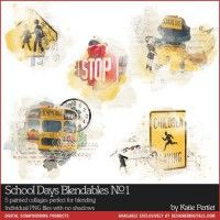 School Days Blendables No. 01
