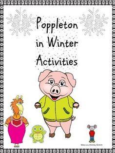 pitner 39 s potpourri poppleton in winter freebie literacy ideas for school 2nd grade books. Black Bedroom Furniture Sets. Home Design Ideas