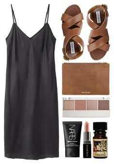 """""""brown candy"""" by rosiee22 ❤ liked on Polyvore featuring Organic by John Patrick, Steve Madden, NARS Cosmetics, Witchery and Smashbox"""